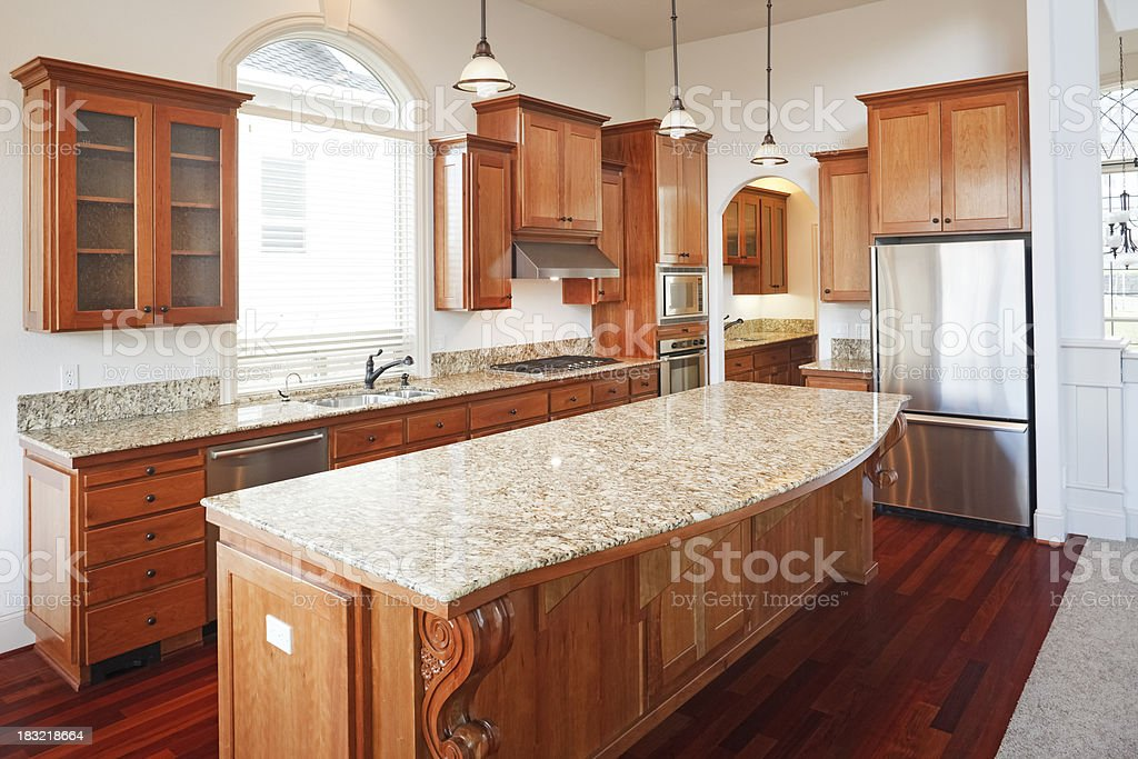 New Luxury Kitchen royalty-free stock photo