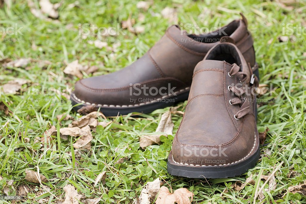 new man's boots royalty-free stock photo
