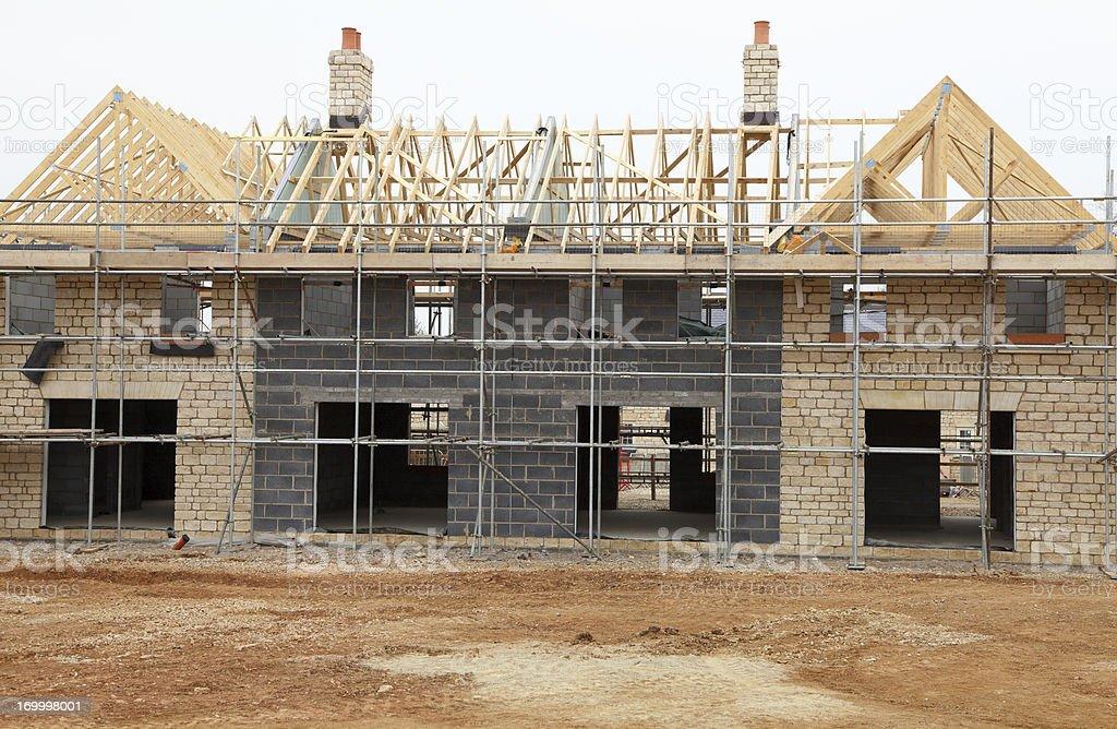 New mansion stock photo