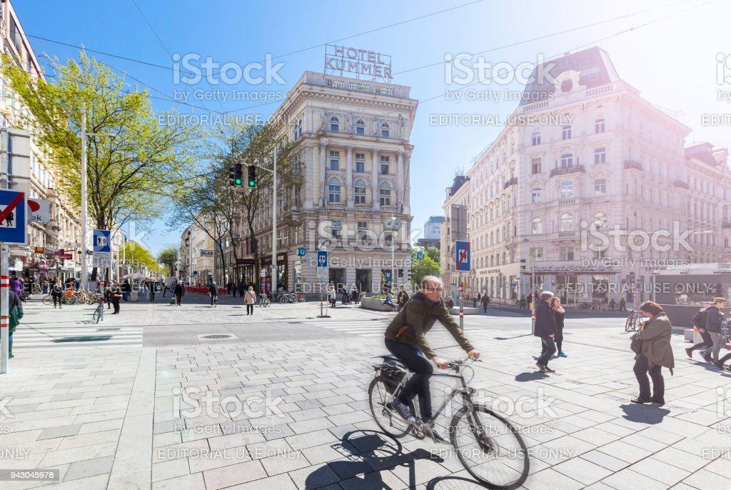 Neue Mariahilfer Straße Wien – Foto