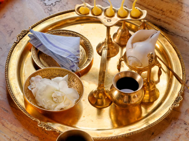 Best Indian Pooja Items Stock Photos, Pictures & Royalty-Free Images