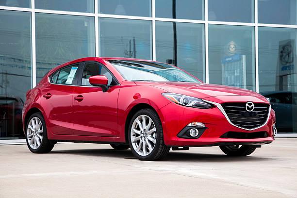 New Mazda 3 Hatchback stock photo