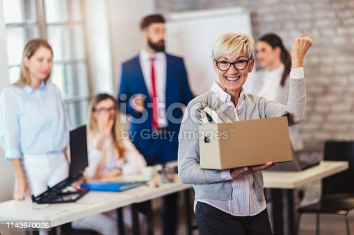 639540494 istock photo New member of team, newcomer, applauding to female employee, congratulating office worker with promotion 1143670026