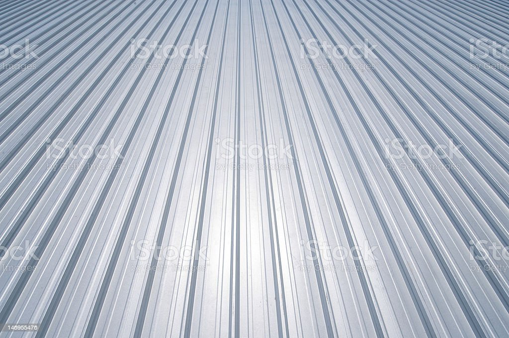New metal roof royalty-free stock photo