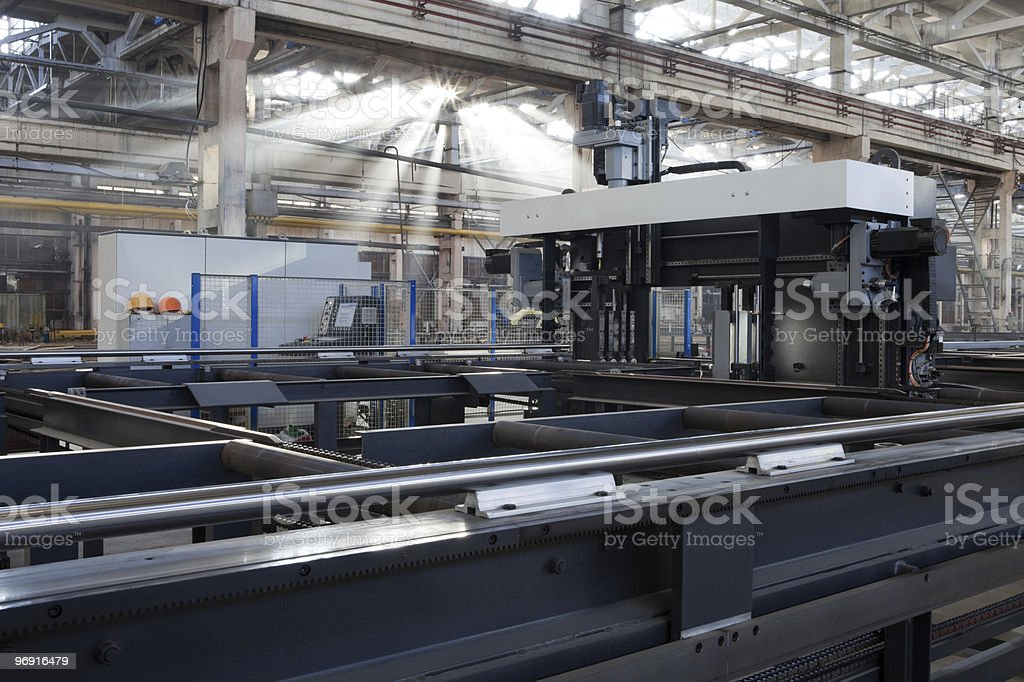 new metalworking machine royalty-free stock photo