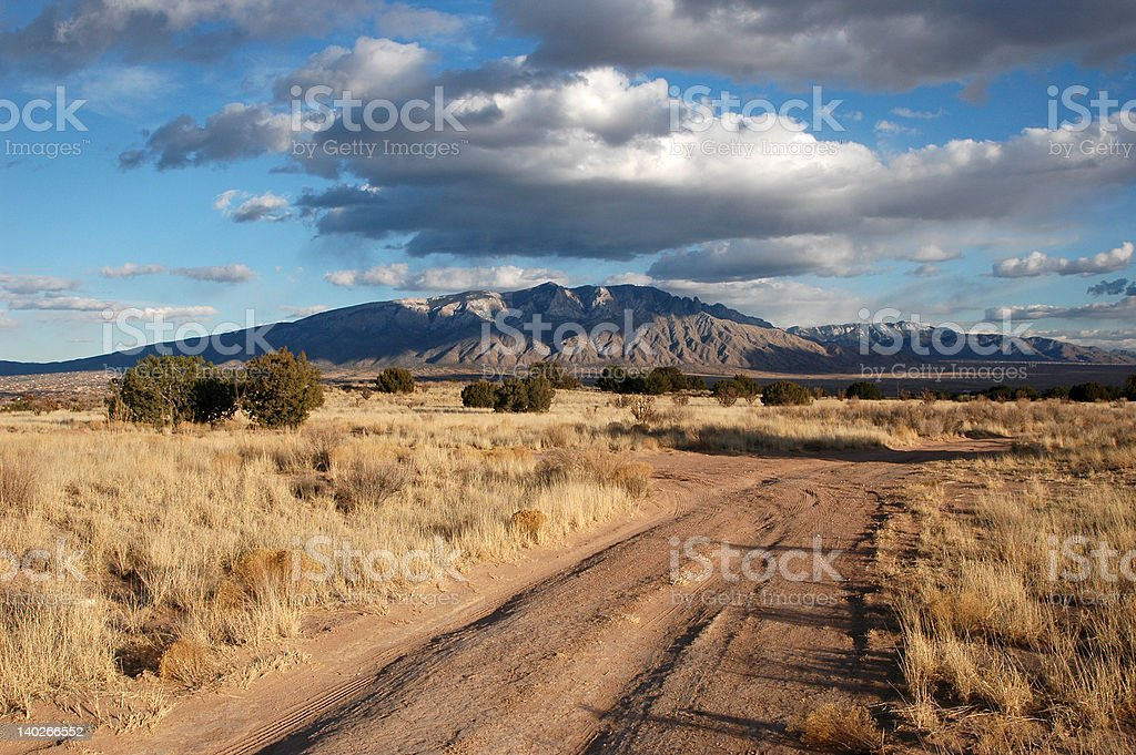 New Mexican Mountain royalty-free stock photo