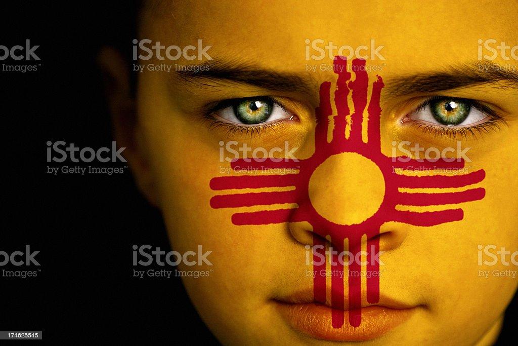 New Mexico boy stock photo
