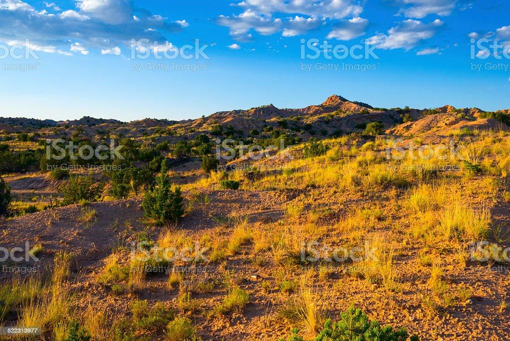 New Mexico Landscape stock photo