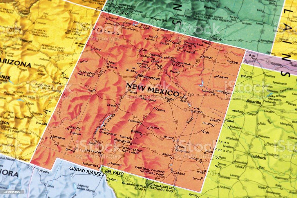 New Mexico stock photo