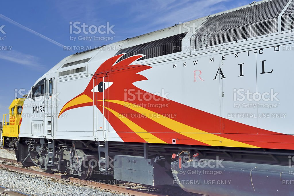 New Mexico Rail Runner Express (NMRX) stock photo