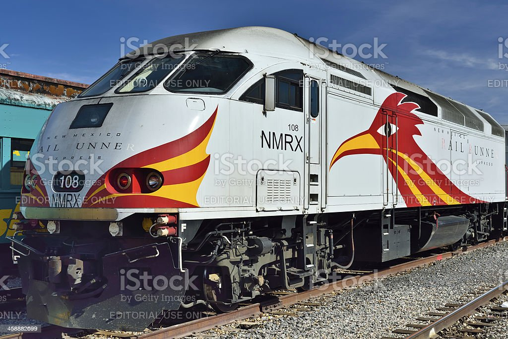New Mexico Rail Runner Express (NMRX) royalty-free stock photo