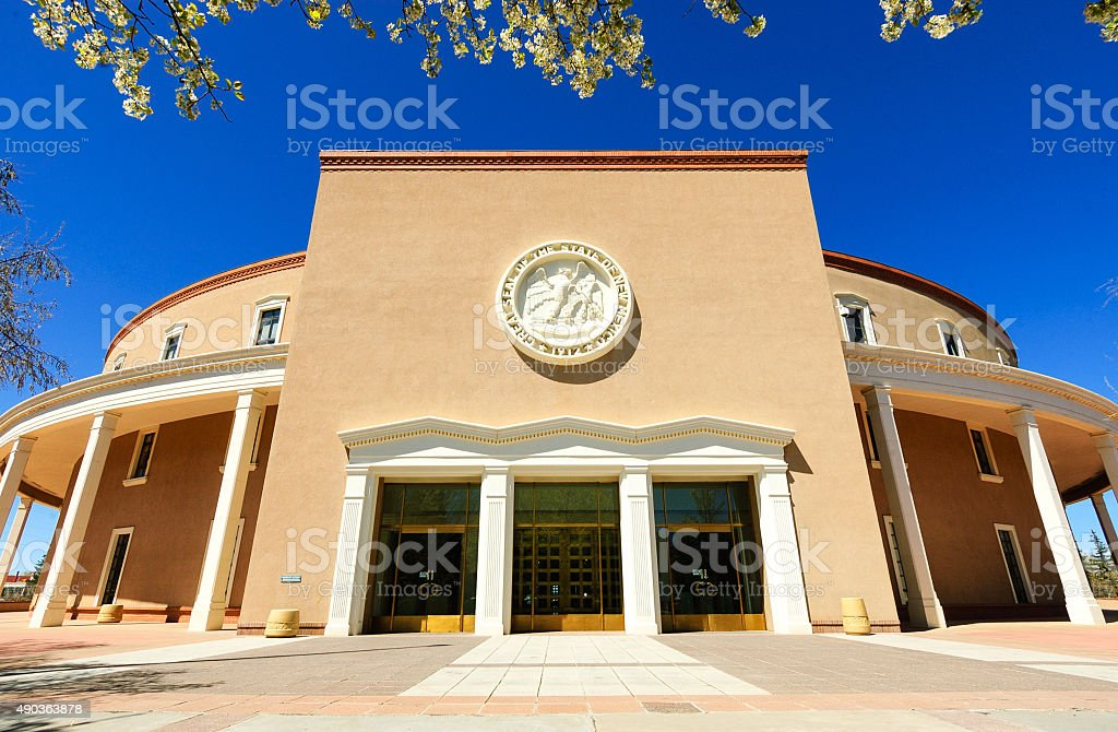 New Mexico State Capitol royalty-free stock photo