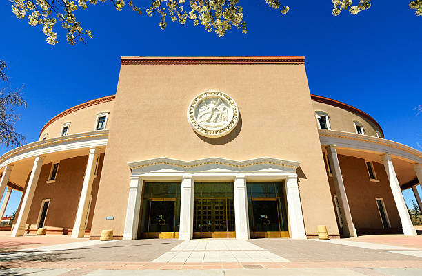 New Mexico State Capitol stock photo