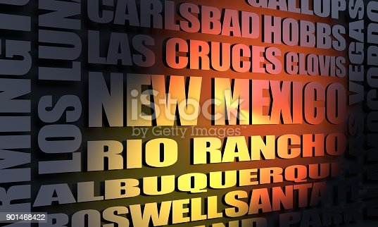450754061istockphoto New Mexico state cities list 901468422