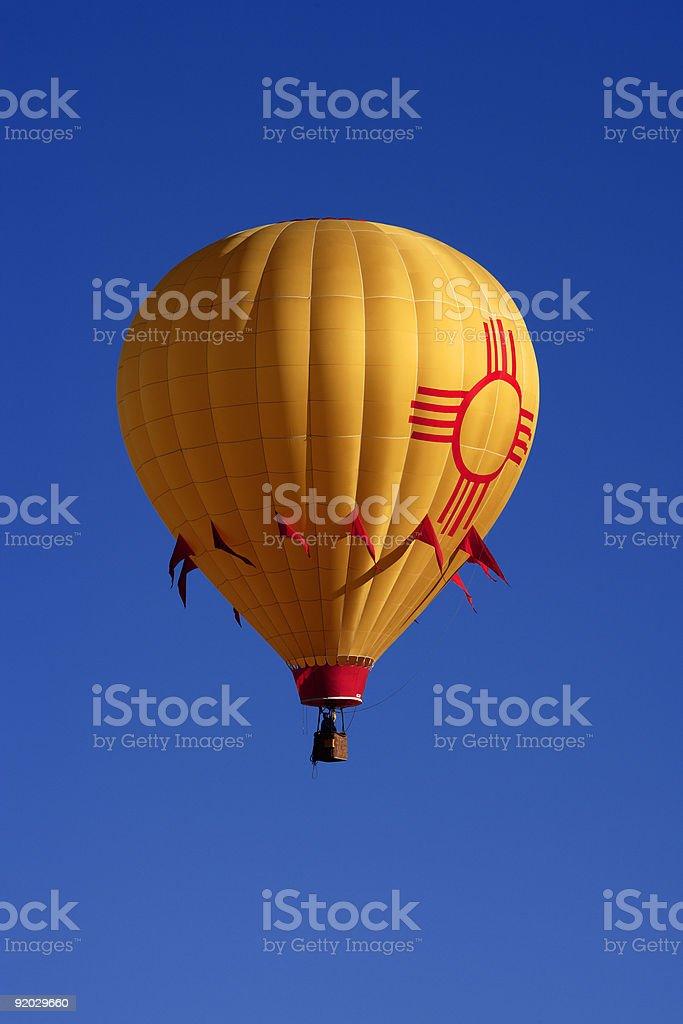 New Mexico State Flag Balloon royalty-free stock photo