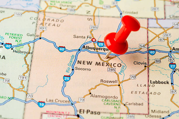 Free New Mexico Map.Royalty Free New Mexico Map Pictures Images And Stock Photos Istock
