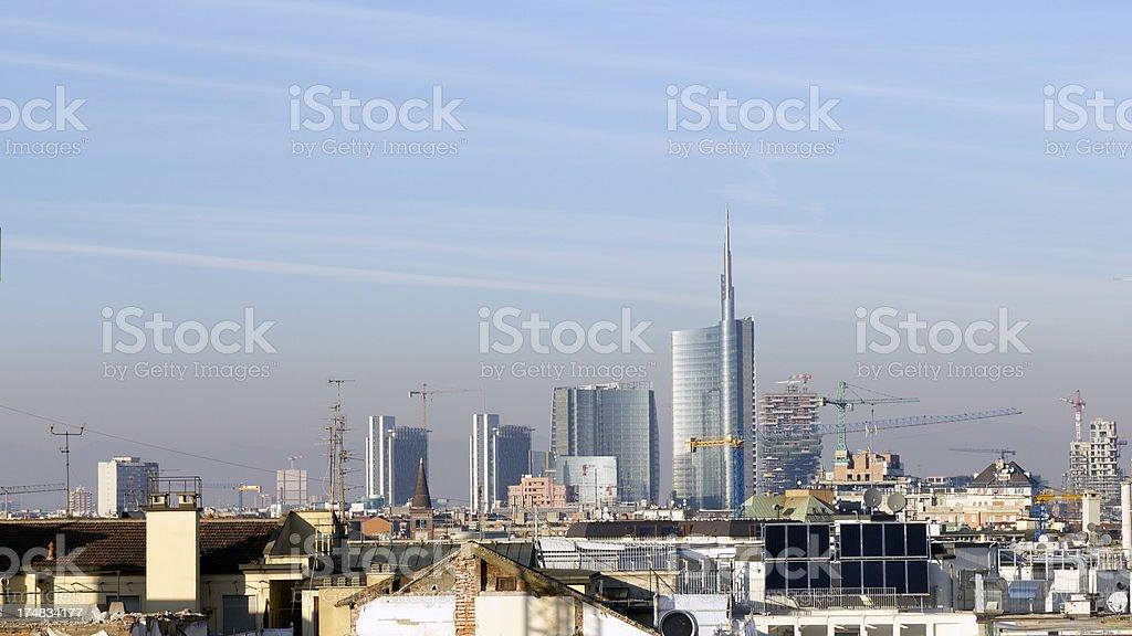 Milan is under construction.
