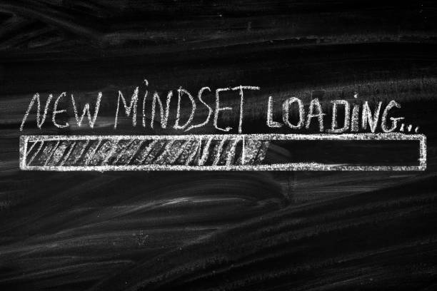new mindset new results - changing form stock pictures, royalty-free photos & images