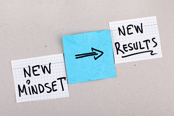 new mindset new results - attitude stock photos and pictures