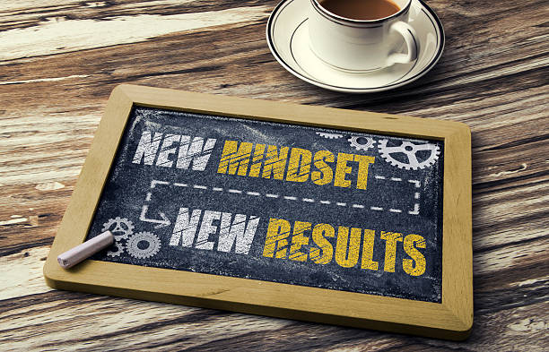 New Mindset, New Results stock photo