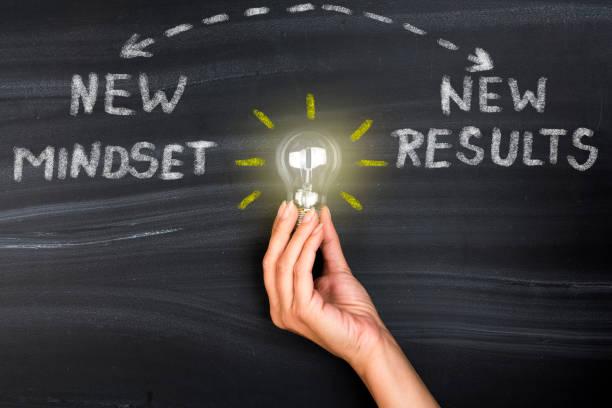 new mindset new results - postawa zdjęcia i obrazy z banku zdjęć