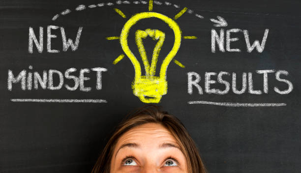 New Mindset New Results - foto stock