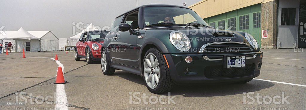 New Mini Introduction In Toronto Stock Photo More Pictures Of