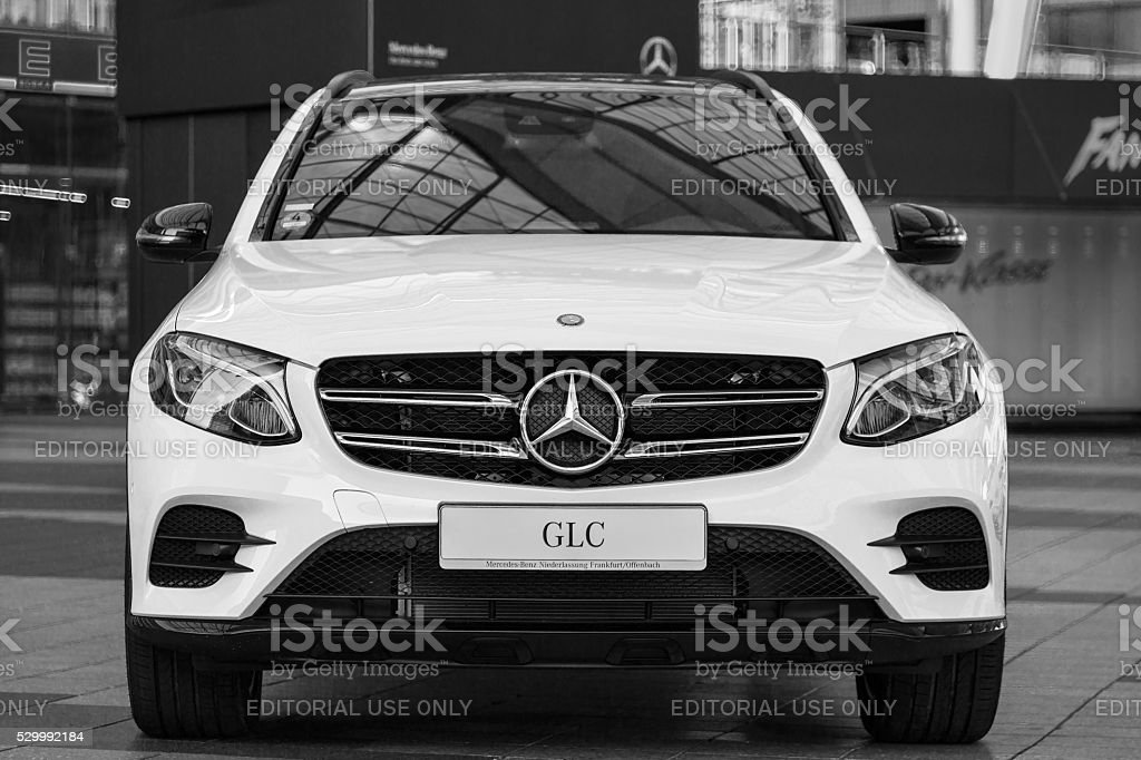 New model of Mercedes-Benz GLC second generation crossover SUV stock photo