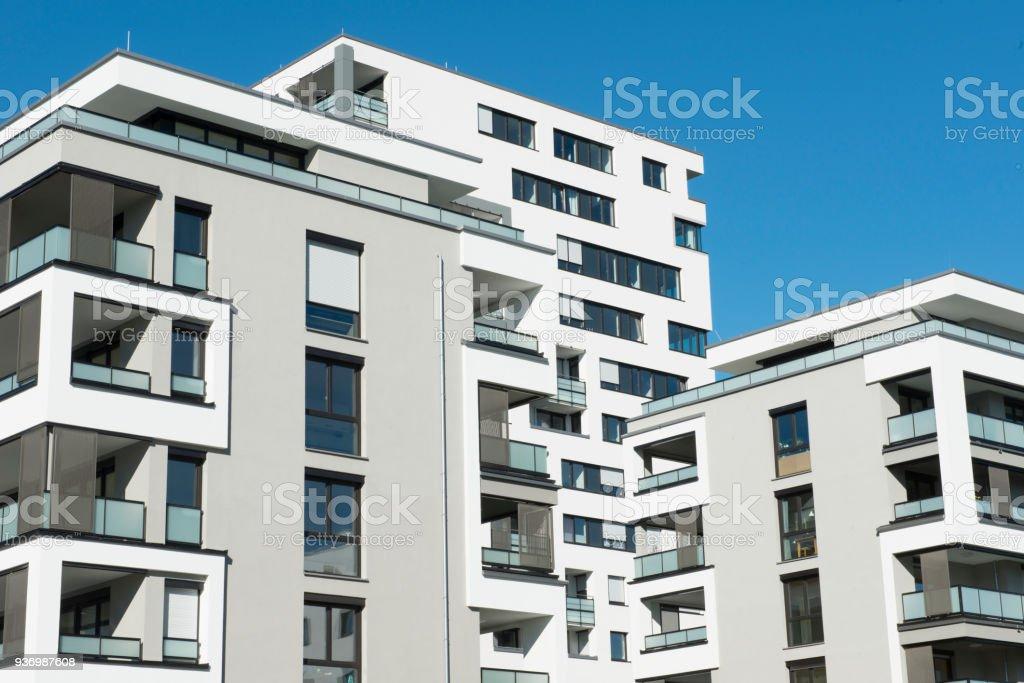 New Modern Apartment Buildings Condominiums In An ...