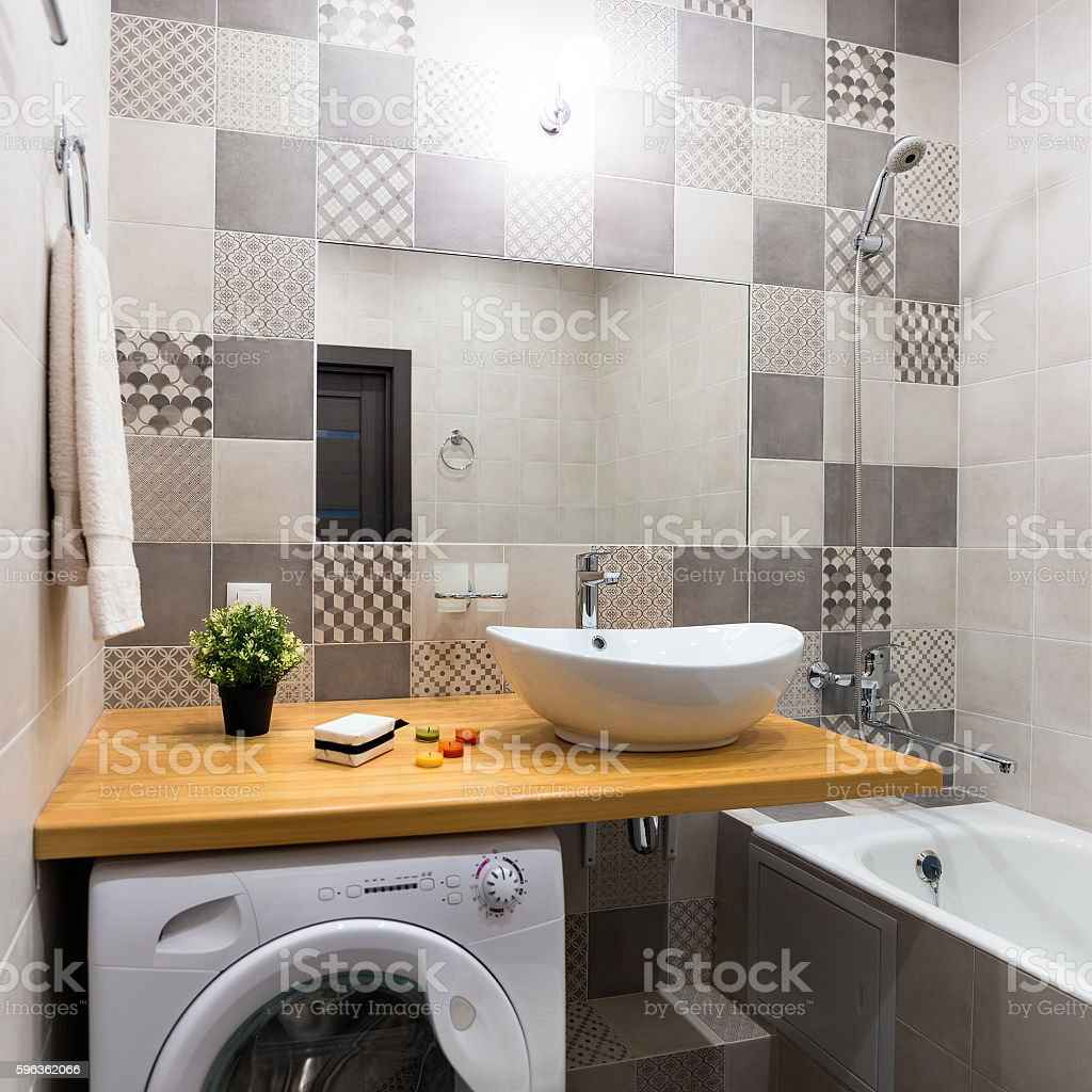 New modern bathroom royalty-free stock photo