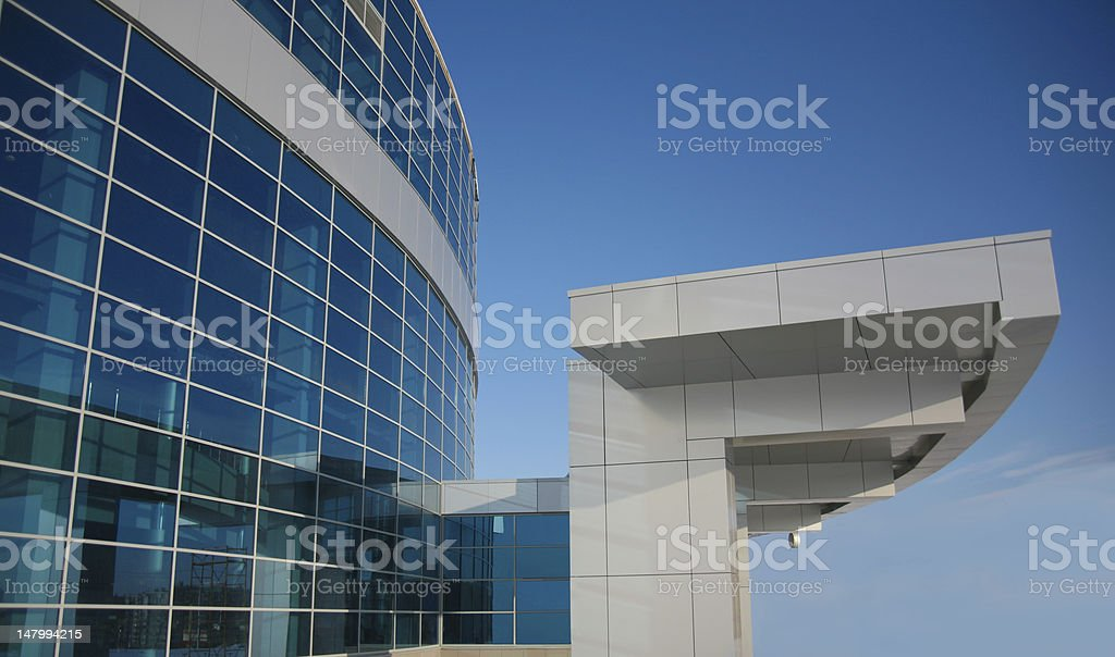 New modern business centre royalty-free stock photo