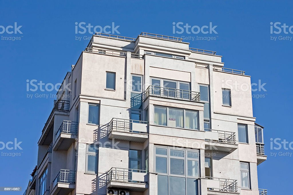 new modern luxury big house royalty-free stock photo