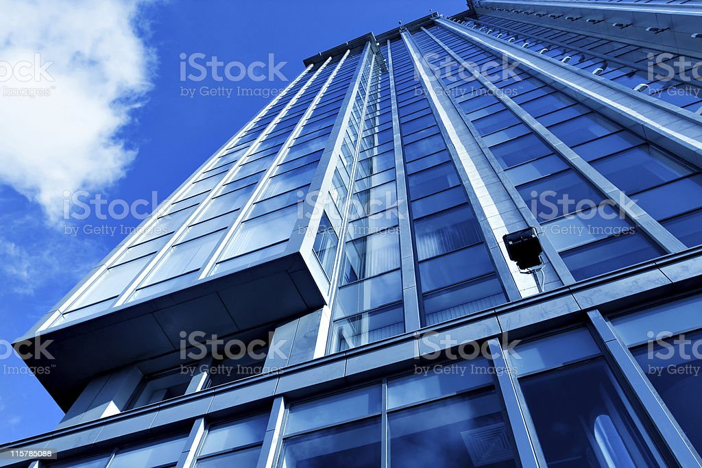 New modern skyscrapers royalty-free stock photo