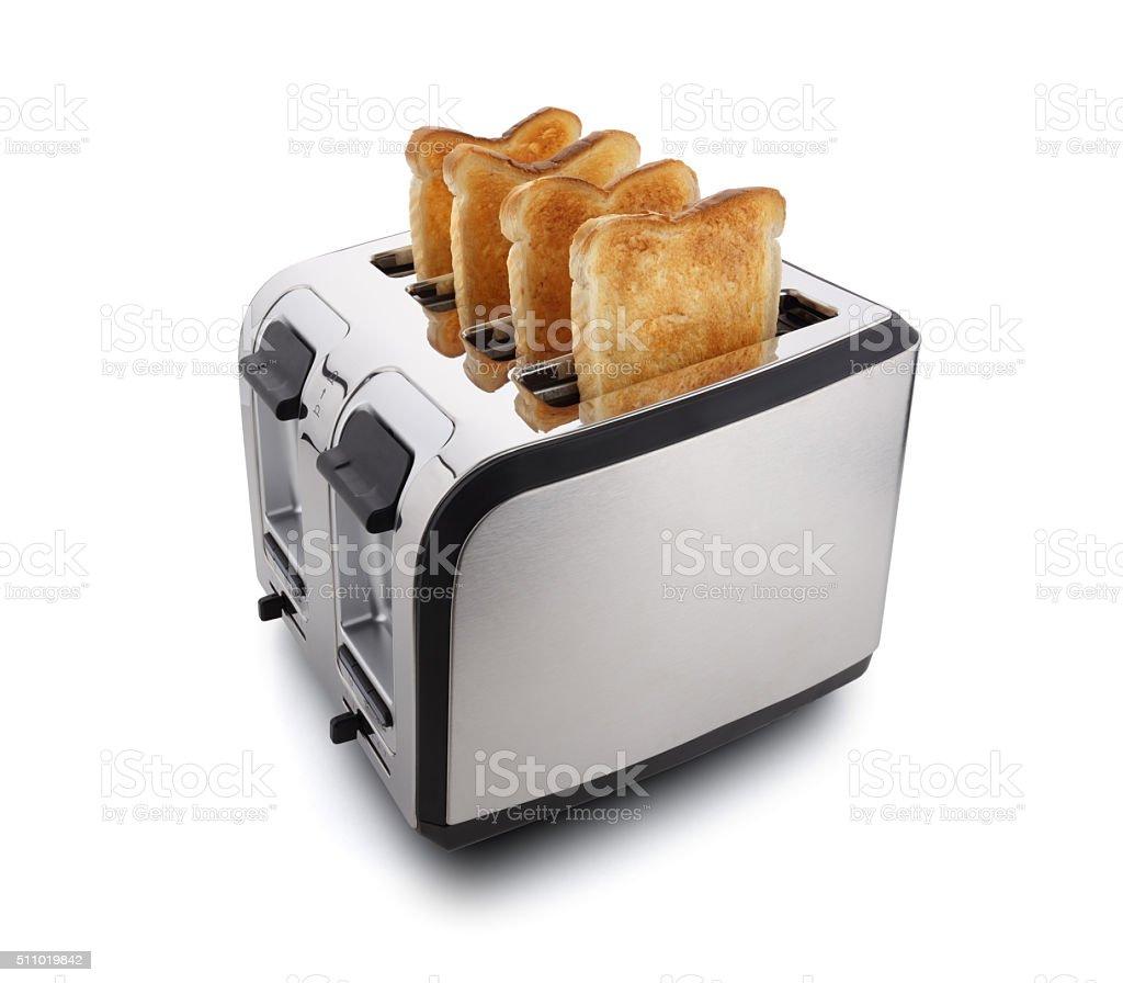 New modern toaster stock photo