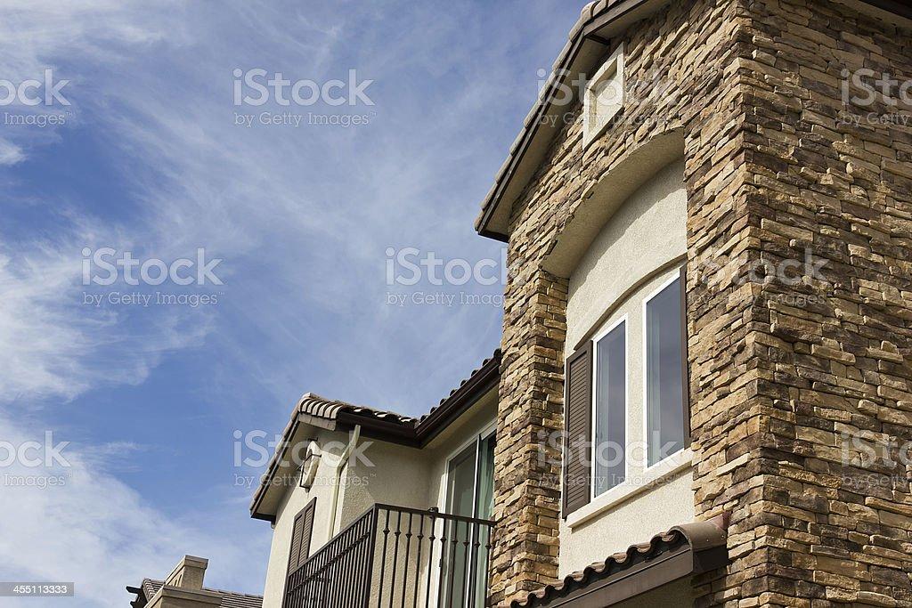 New Modern Townhouse stock photo