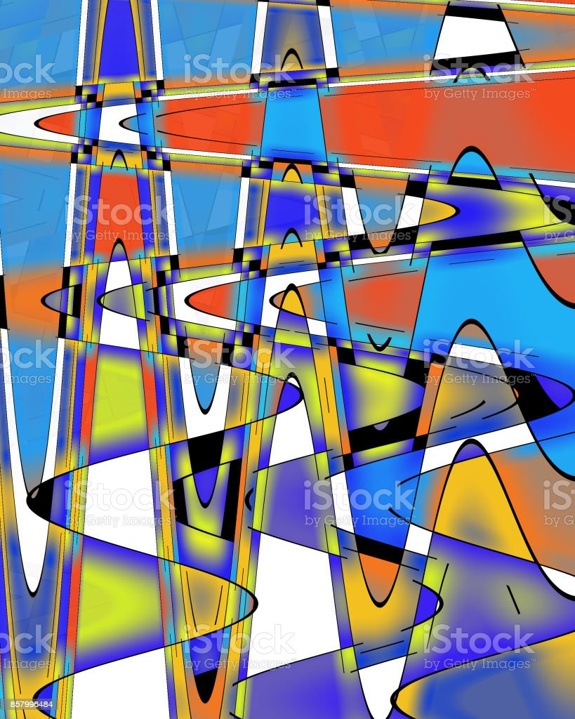 New Mondrian stock photo