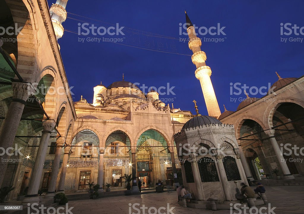 New mosque - 1 royalty-free stock photo