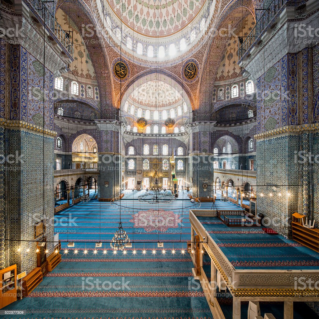 New mosque in Fatih, Istanbul stock photo