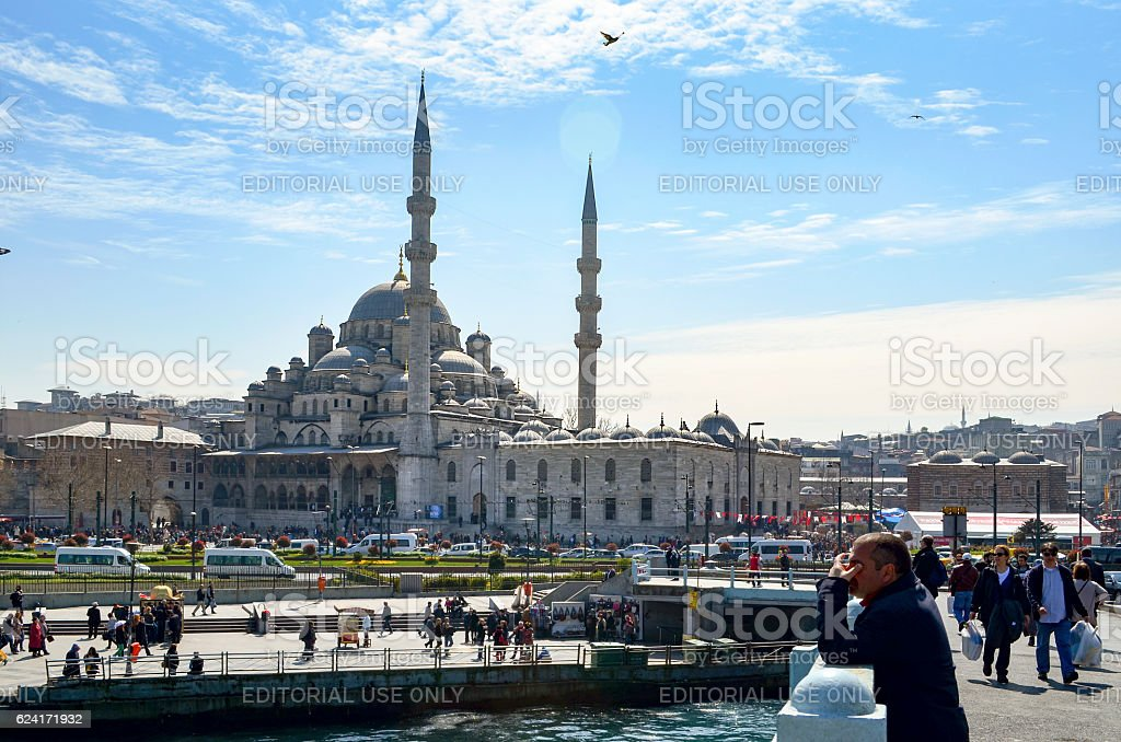 New Mosque Istanbul stock photo