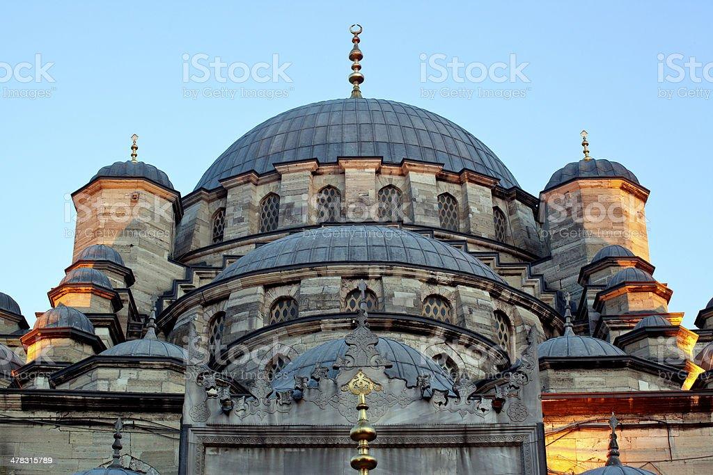 New Mosque (Yeni Camii), Istanbul Turkey royalty-free stock photo