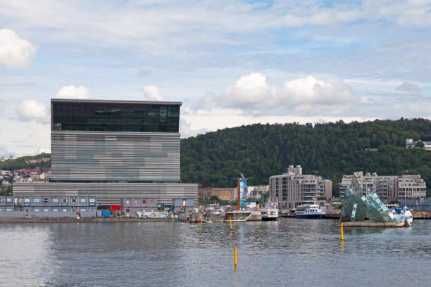 New Munch Museum in Oslo stock photo