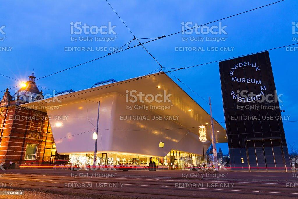 New Municipal Museum Amsterdam stock photo