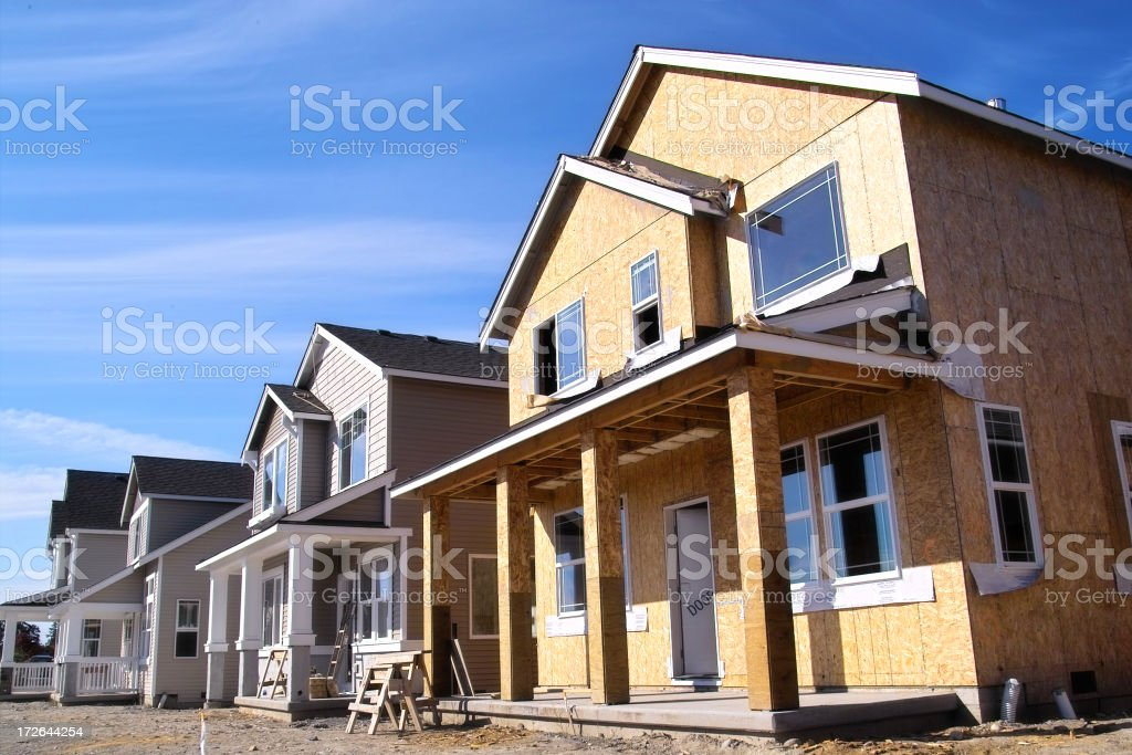 New Neighborhood stock photo