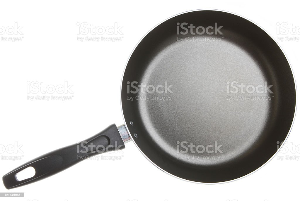 New Non-Stick Frying Pan royalty-free stock photo