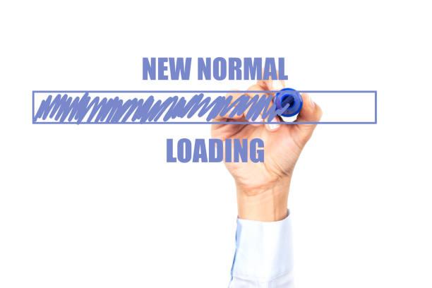 new normal - new normal foto e immagini stock