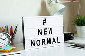 istock New normal trendy,stay home,work from home,social distancing concepts on covid-19 outbreak situation.safety and health care 1225941615