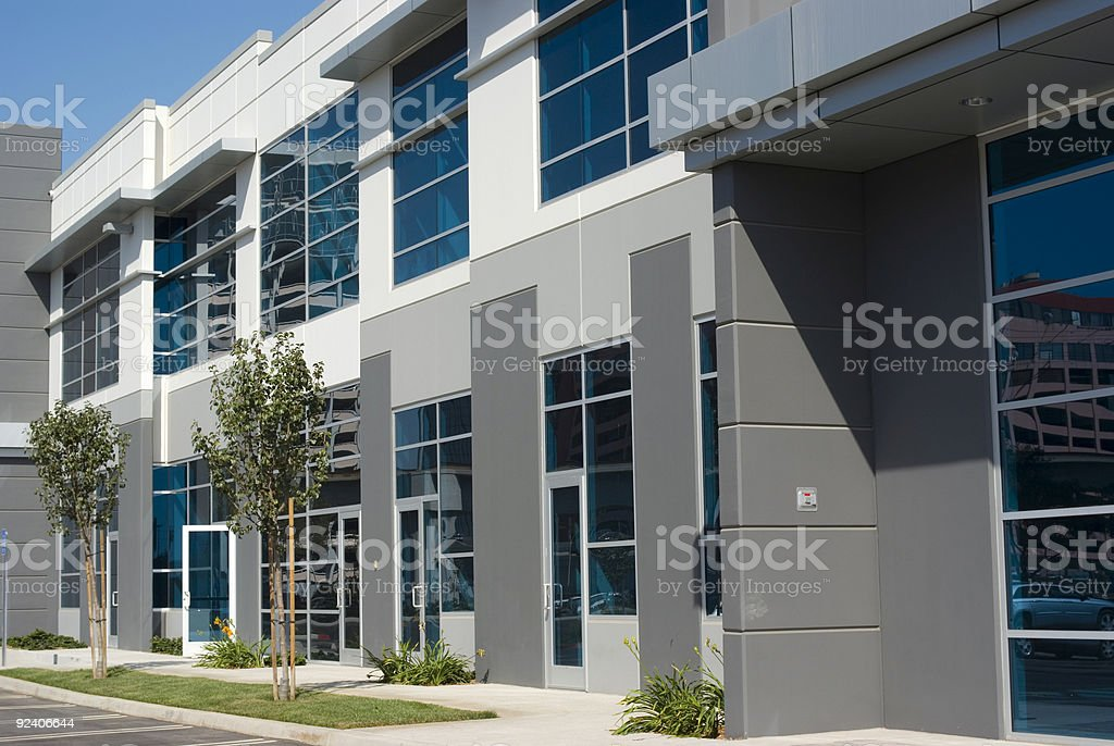 New Office Building royalty-free stock photo