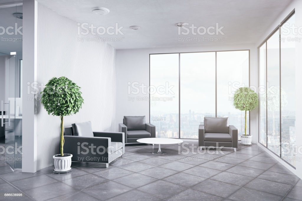 New office interior foto stock royalty-free