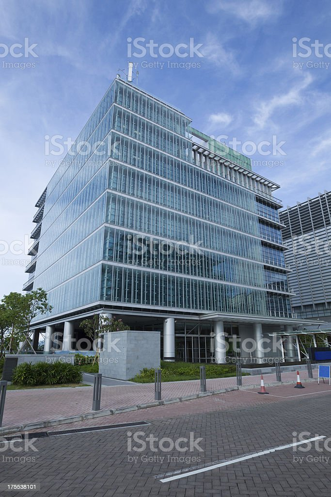 The new office park have environmental-friendly facilities.