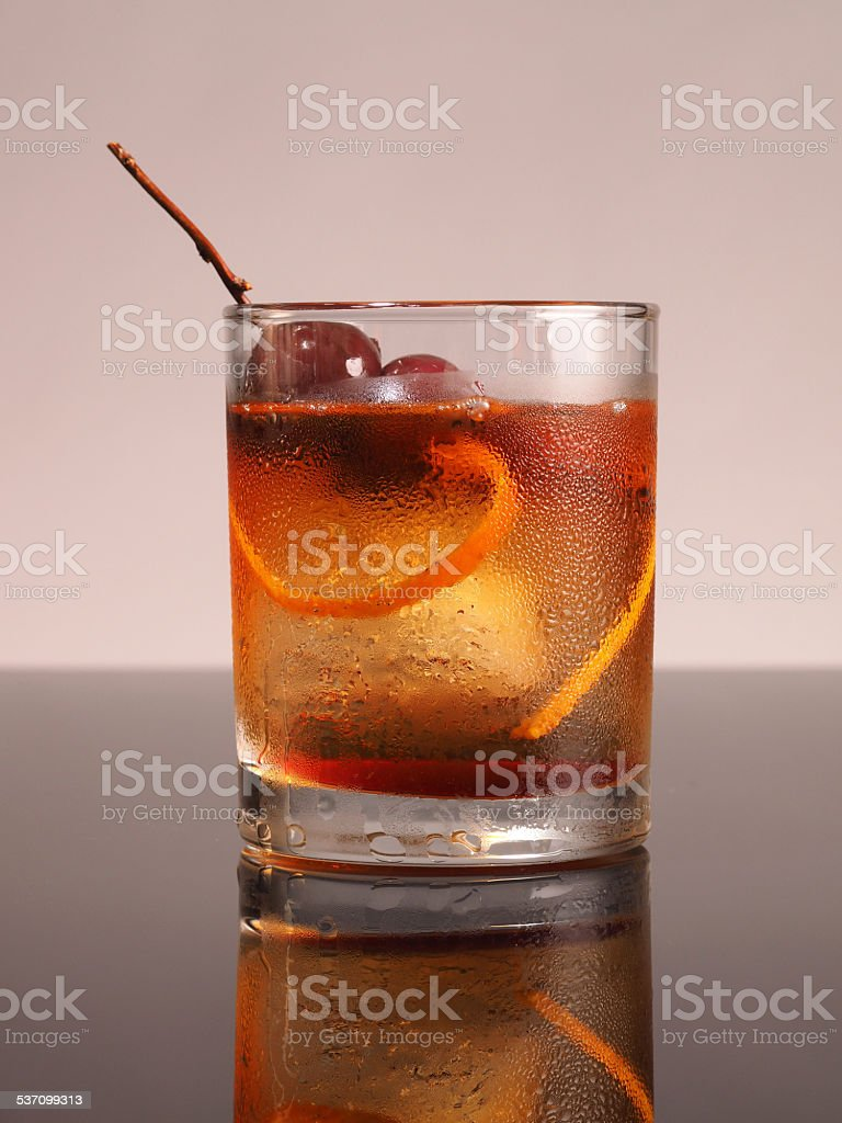 New Old Fashioned stock photo